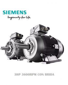 MOTOR SIEMENS IEC 3HP 3600RPM